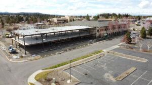 Construction Medical Building NE Cushing