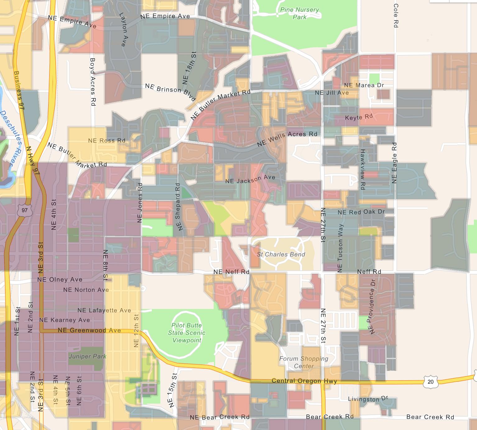 Deschutes County Subdivisions