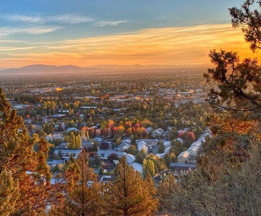 From Pilot Butte in the Fall