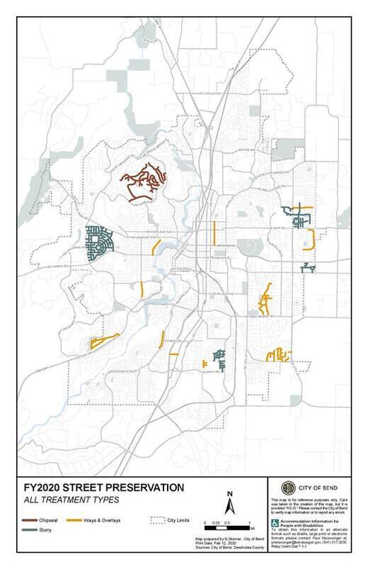 Street preservation plans for 2020